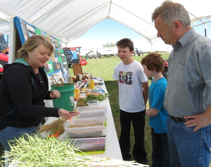 AFA-Terry Banack on Open Farm Days